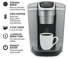 Keurig K-Elite Single Serve [Brushed Silver] Coffee Maker