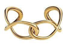 NUOVO CALVIN KLEIN Oro in Acciaio Inox Cordolo Link Bracciale kj44cb02010s piccolo £ 110