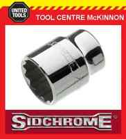 "SIDCHROME SCOKETS - 1/2"" DRIVE METRIC TORQUEPLUS STANDARD - ALL SIZES AVAILABLE"