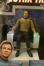Diamond Select Star Trek ELECTRONIC TALKING COMMAND CHAIR Kirk Figure Art Asylum