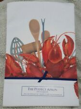 Lobster Chef's Apron 2 Pockets *NEW* see description