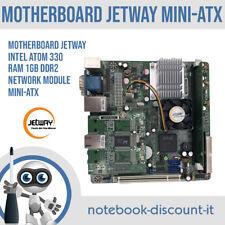 Jetway CPU Intel Atom 330 Ram 1gb DDR2 1x Network Module MINI-ITX NC92-330-LF