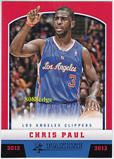 2012-13 PANINI BLACK KNIGHT PARALLEL #34:CHRIS PAUL #10/10 CLIPPERS ALL-STAR 1/1