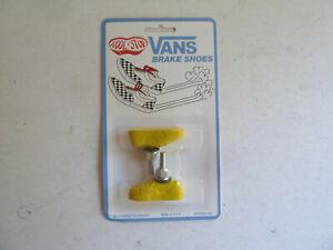 Kool Stop VANS brake shoes, pads, yellow