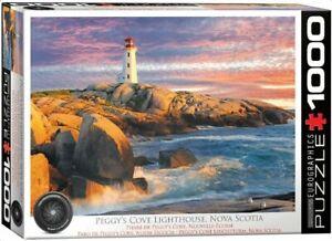Eurographics 1000 Piece Jigsaw Puzzle - Peggy's Cove Lighthouse  EG60005437