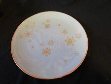 Vintage Delano Studios 1959 Snowflake Plate Made in Setauket, Long Island Rare