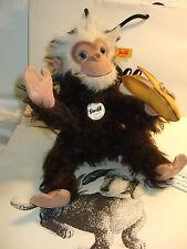 Steiff-Teddys mit Affen-Motiv