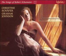 The Songs of Robert Schumann, Vol. 1 (CD, 1996, Hyperion) SCHAFER and JOHNSON