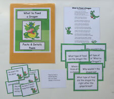 Teacher Made Reading Resource Comprehension Center Facts & Details Poem