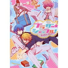 Brother Shuffle! YAOI Manga Japanese / MISHIMA Kazuhiko