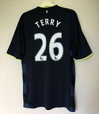 FC CHELSEA 20092010 AWAY FOOTBALL JERSEY CAMISETA SOCCER SHIRT #26 TERRY