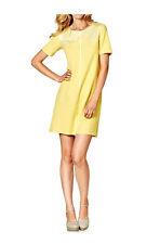 Heine - Best Connections Kleid pastellgelb Gr. 36 bis 44 A-Linie Sixties Style