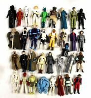 Large Collection of Vintage STAR WARS Collectable Toy Figures  - BB7