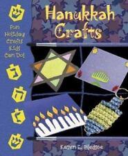 Hanukkah Crafts (Fun Holiday Crafts Kids Can Do!) Bledsoe, Karen E. Library Bind