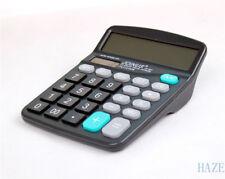 Solar Power Powered Battery Digit Calculator Desktop Jumbo Large Buttons
