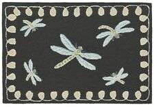 "Area Rug - ""Dancing Dragonflies"" Indoor Outdoor Rug - 30"" x 48"" - Dragonfly Rug"