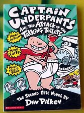 Captain Underpants and the Attack of the Talking Toilets by Dav Pilkey (Paperbac