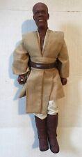 "1993 Hasbro Star Wars Mace Windu 12"" Action Figure Doll Samuel L Jackson"