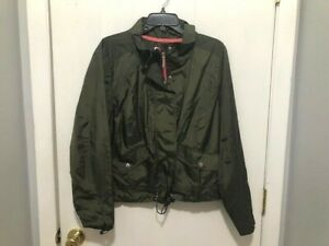 Lane Bryant Livi Active Womens Size 18 Zip Up w/ Snap Closure Windbreaker Jacket