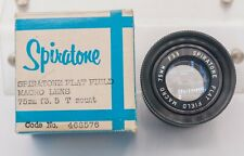 Spiratone Flat Field 75mm F3.5 T/T2 Mount Enlarging/Macro Bellows Lens