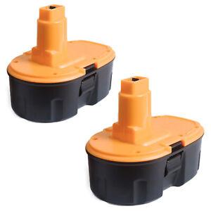 2x For Dewalt 18V Ni-MH Battery 3.0Ah DC9096 DE9098 DE9096 DE9095 DE9039 DW9095
