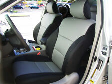 TOYOTA CAMRY 2007-2011 IGGEE S.LEATHER CUSTOM FIT SEAT COVER 13 COLORS AVAILABLE