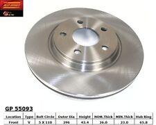 Best Brake GP55093 Front Disc Brake Rotor