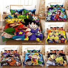 Dragon Ball Z 3PCS Bedding Set Duvet Cover Pillowcase Quilt/Comforter Cover