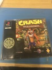 PS1-Sony PlayStation One - Crash Bandicoot - Original Black Label - Big Box