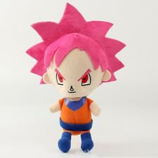 Dragonball Super Saiyan God Goku Kids Plushy Toy Doll