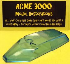Gerry Anderson Dinky 103 SPC Replacement Repro Window Glass Unit - BLUE TINTED