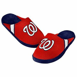 Washington Nationals Jersey Mesh SLIDE SLIPPERS New - FREE SHIPPING - MLB