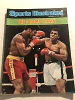 1978 Sports Illustrated MUHAMMAD ALI vs LEON SPINKS No Label THE CHAMP AGAIN N/L