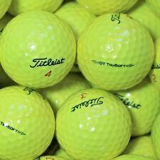 25 Golfbälle Titleist DT TruSoft Gelb AAA/AAAA Qualität Tru Soft Lakeballs Golf