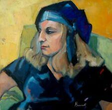 """Marilyn Bendell - """"Anna"""" Oil on Canvas"""