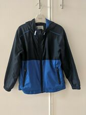 George Boys Navy Blue Cagoule Rainjacket - Age 5-6
