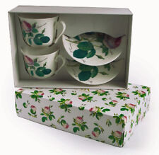 Roy Kirkham Redoute Rose Large Breakfast Cup & Saucer Set of 2 Gift Boxed New