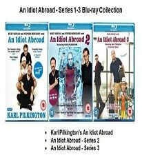 AN IDIOT ABROAD COMPLETE SERIES 1 2 3 BLU RAY All Episodes New Sealed UK Release