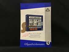 altes Prospekt-Blatt Wiegandt Waren-Automaten Berlin Neukölln – Standard 8 E