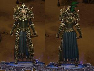 Diablo 3 PS4 Super Rare Conqueror's Set For Transmogs (Read Before Buying)