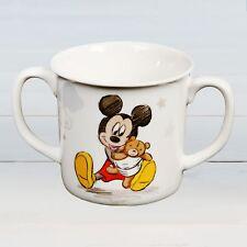Disney Mickey Mouse Ceramic Mug Cup Magical Beginnings New Born Baby Gift Widdop
