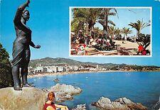 BT7513 monumento a la mijer marinera y detalle paseo Lloret de mar      Spain
