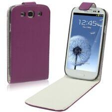 Samsung Galaxy S3 Galaxy S3 Neo Case Handytasche Flip Ledertasche Purple