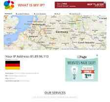 What is my ip address - Online tool website