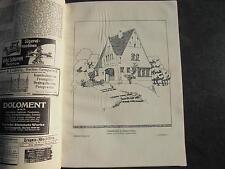 1912 Baugewerkszeitung  17 / Hannover Döhren