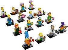 Lego Minifigures Los Simpsons Serie 2 Juego de 16 figuras 71009 Nuevo Completa