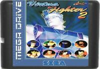 Virtua Fighter 2 (1994) 16 Bit Game Card For Sega Genesis / Mega Drive System