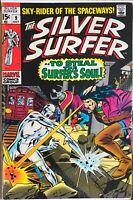 Silver Surfer #9 Mephisto! Stan lee & John Buscema! EXCELLENT COPY