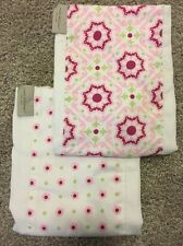 wendy bellissimo burp cloth Set, 2 Piece Set, New, Boutique