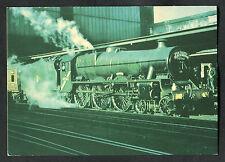 "C1980s View: L.M.S. Stanier ""Jubilee"": Class 4-6-0 Steam Locomotive"